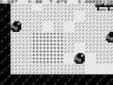 Boulder Logic ZX81 Getting crushed by a boulder