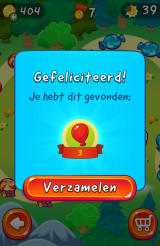 Cut the Rope 2 Android A treasure chest has been discovered (Dutch version).