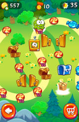 Cut the Rope 2 Android Level path