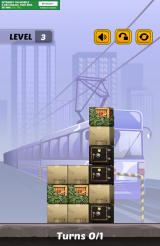 Swap The Box Android The third level in the Train world