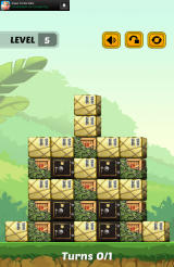 Swap The Box Android The fifth level in the Jungle world