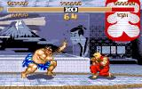 Street Fighter II Amiga Thousand hands...