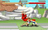 Street Fighter II Amiga ... he bends his body...