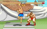 Street Fighter II Amiga Sagat as a kickboxer has some nice punches...