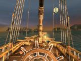Assassin's Creed: Pirates iPad When playing on tablets setting it for tilt allows direction of ship's wheel (outlined white in this mode) by simple tilt of the device
