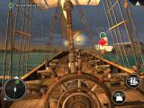 Assassin's Creed: Pirates iPad Engaging the Navy vessel Brig