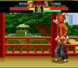Art of Fighting SNES And finish with an uppercut. Inflicts anywhere from 50 to 70% of damage!