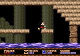 Castle of Illusion starring Mickey Mouse Genesis Water level rises and falls in this level, watch out