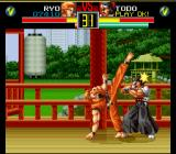 Art of Fighting SNES Flexibility at its best.