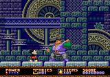 Castle of Illusion starring Mickey Mouse Genesis Fighting a big but rather dumb guy