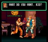 Art of Fighting SNES Chewing bubble gum won't help you get respected, Jack...