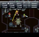 Final Fantasy Chronicles PlayStation Chrono Trigger: Fighting some mean machines! Note the seamless backgrounds