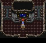 Final Fantasy Chronicles PlayStation Chrono Trigger: Futuristic dungeon. Activating a console