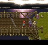 Final Fantasy Chronicles PlayStation Chrono Trigger: Lovely scene near a bridge