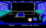 Space Quest: Chapter I - The Sarien Encounter DOS Important safety tip... hard vacuum can be hazardous to your health