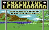 Leader Board: Executive Edition Commodore 64 Loading Screen.