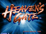 Yusha: Heaven's Gate Arcade Title screen
