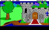 Space Quest: Chapter I - The Sarien Encounter DOS Crashing landing in King's Quest I