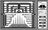 Cave Runner II: Caverns of Death Atari ST Level 72: a huge castle