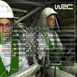 WRC II Extreme PlayStation 2 The end of run results. This run timed out which is why the figures don't make much sense. This is followed by an action replay