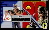 Rise of the Dragon Amiga Pleasure dome's security.