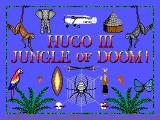Hugo III: Jungle of Doom DOS Title Screen