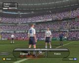 World Tour Soccer 2002  PlayStation 2 The usual animated sequence that swoops around the stadium and shows the players taking the field precedes the kick off