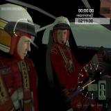 WRC World Rally Championship PlayStation 2 Inside the player's car before the race