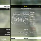WRC World Rally Championship PlayStation 2 The basic controller setup.