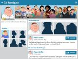 "Family Guy: The Quest for Stuff iPad In-game social network ""updated"" by the characters."