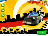 Crazy Taxi: City Rush iPad Main menu