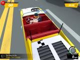 Crazy Taxi: City Rush iPad A view from above the taxi