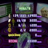 Scooby-Doo and the Cyber Chase PlayStation Once back in the control room the player's score is revealed. High scores depend on eating everything. No scores for speed or killing any enemies at all.