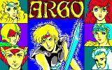 Argo Sharp X1 Title screen