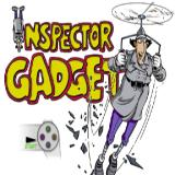 Inspector Gadget: Gadget's Crazy Maze PlayStation The game's title screen