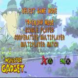Inspector Gadget: Gadget's Crazy Maze PlayStation Starting a new game. There are three game modes available plus a training mode.