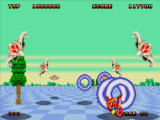 Space Harrier II Windows Painful fall