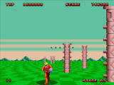 Space Harrier II Windows Second arena