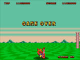 Space Harrier II Windows Game over