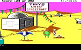Space Quest: Chapter I - The Sarien Encounter DOS Looks like Tiny's sold you a real lemon
