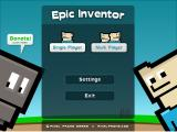 Epic Inventor Windows Main menu.