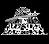 All-Star Baseball 99 Game Boy Title Screen.