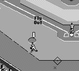 All-Star Baseball 99 Game Boy Fly Out.