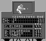 All-Star Baseball 99 Game Boy Scoreboard.