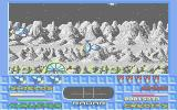 Star Breaker Amiga The base merrily self-destructs after being purged of aliens