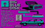 Big Blue Disk #35 DOS Title screen