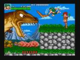 Joe & Mac: Caveman Ninja Zeebo The first boss. If the player holds the attack button, the attack is charged and, when released, the weapon is a lot bigger and does more damage.