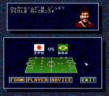 Zico Soccer SNES There are eight formations to choose from. And players? There are only 11... Finally, is Zico's advice useful?