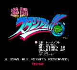 Bad News Baseball NES Japanese title screen