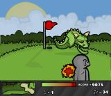 Ninja Golf Browser The dragon that guards the hole. Avoid fireballs and toss shuriken at it
